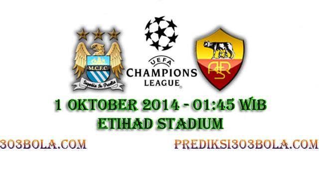 Prediksi Manchester City Vs AS Roma 1 Oktober 2014 ...