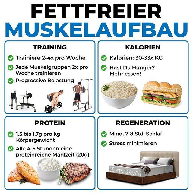 So Geht Fettfreier Muskelaufbau Von At Fitnesswiki Muskeln Aufbauen