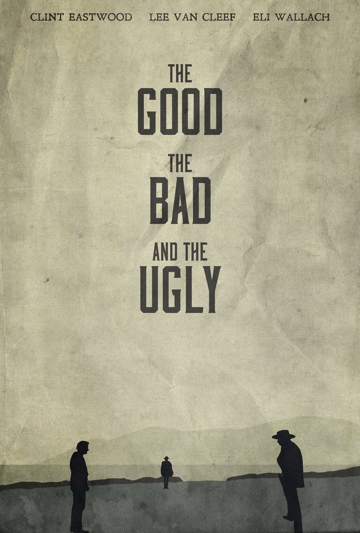 The Good the Bad and the Ugly Movie Film Photo Print Poster Picture WALL ART