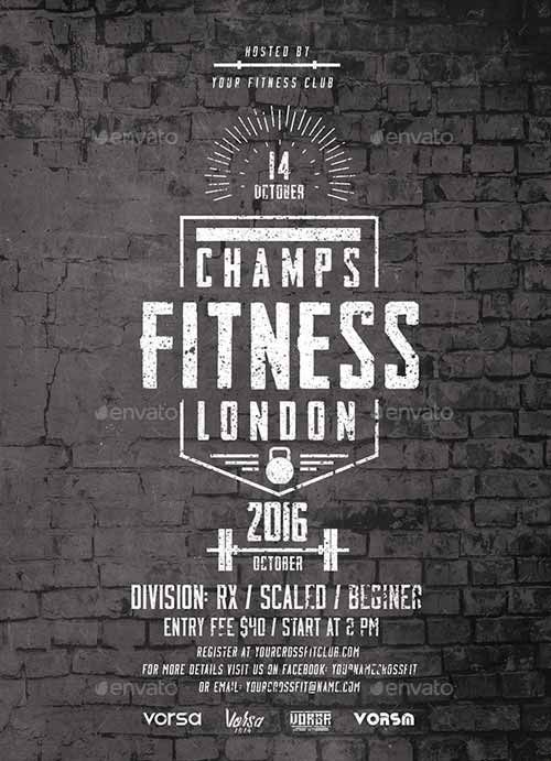 Fitness Event Flyer Template  HttpFfflyerComFitnessEvent