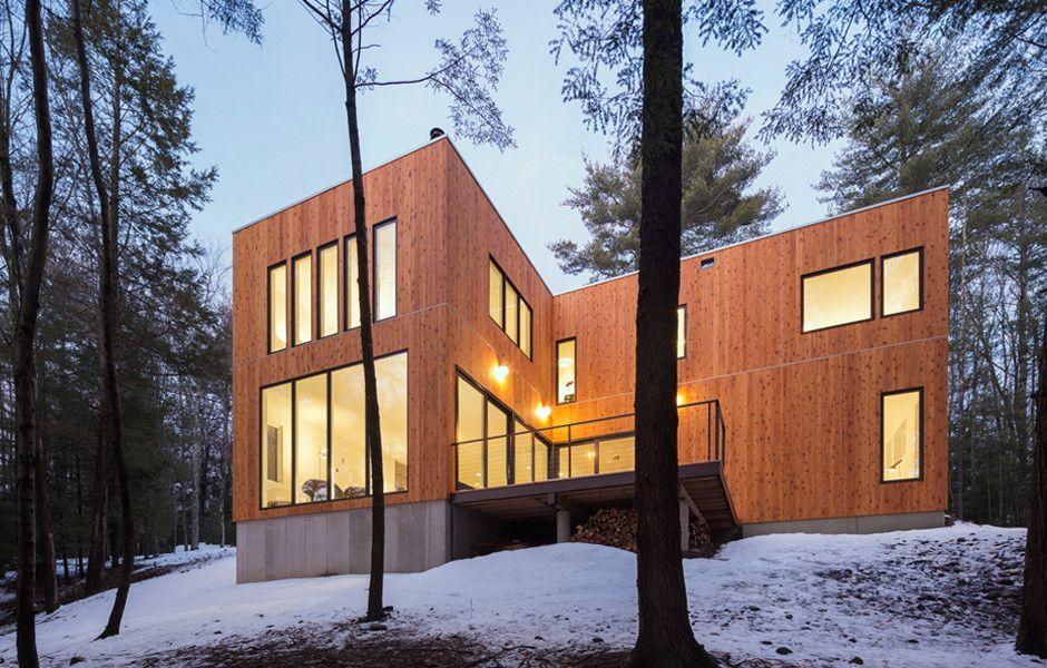 Modern home in kerhonkson ny designed by marica mckeel of studio mm pllc and built by hank starr builder llc in kerhonkson