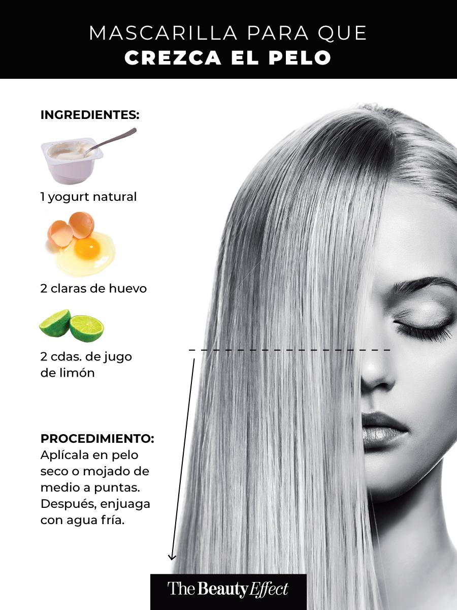 15 Mascarillas Para Pelo Caseras Aprobadas The Beauty Effect Crecer El Pelo Rapido Tratamientos Naturales Para Cabello Cuidado Natural Del Cabello