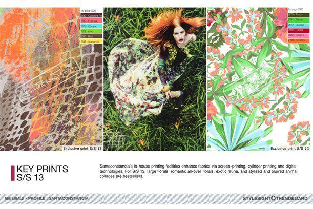 Santaconstancia Key prints S/S 2013