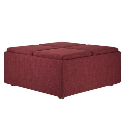 Astonishing Three Posts Novella Storage Ottoman Reviews Wayfair Machost Co Dining Chair Design Ideas Machostcouk
