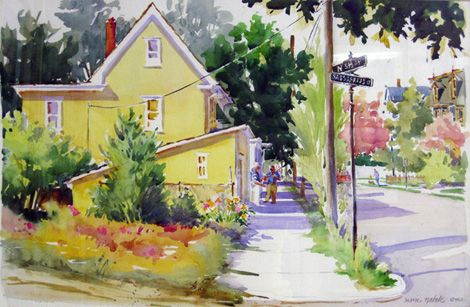 Yellow House on 5th, Marie Natale