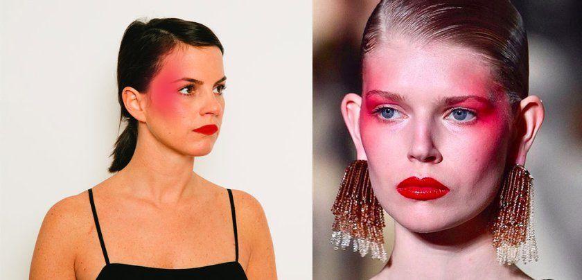 Bildresultat för margiela make up