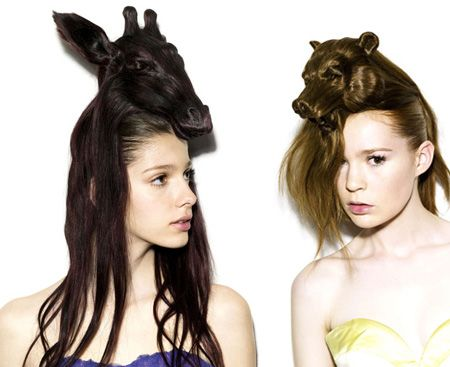 Animal Hair Styles designed by Nagi Noda