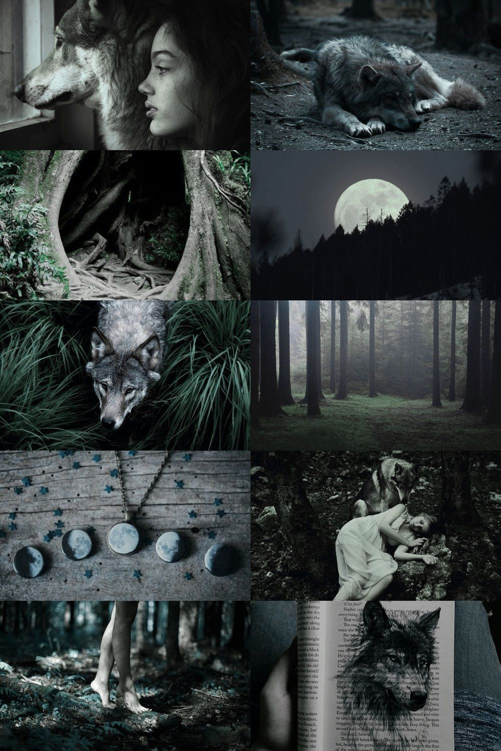 Children Of Wolves With Images Werewolf Aesthetic