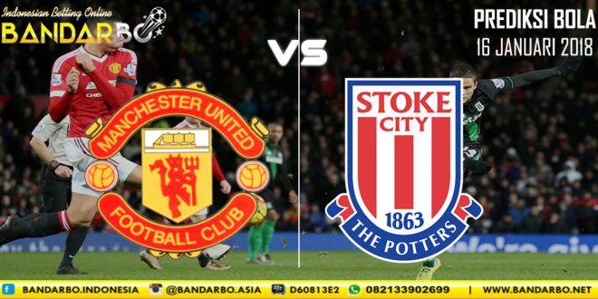 Manchester United vs Stoke City 16 Januari 2018 ...