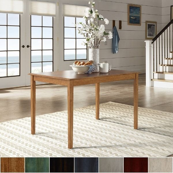 48 inch dining table expandable wilmington ii 48inch rectangular dining table by inspire classic