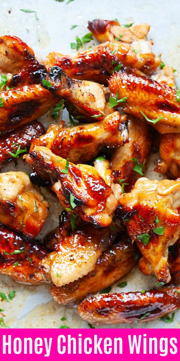 Honey Chicken Wings images