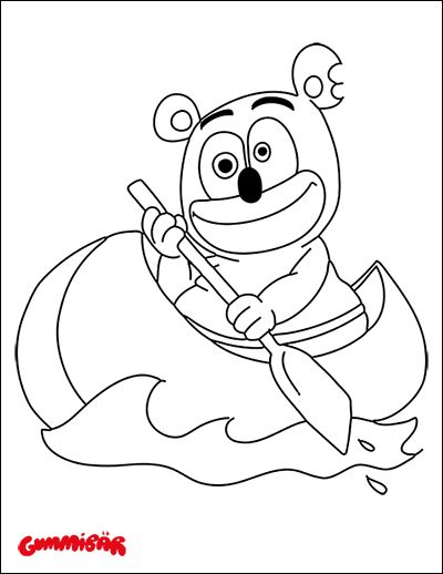 Download A Free Printable Gummibär Coloring Page September