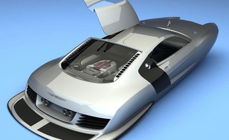 Vizualtech R 8.8 BioCat inspired by Audi R8 3