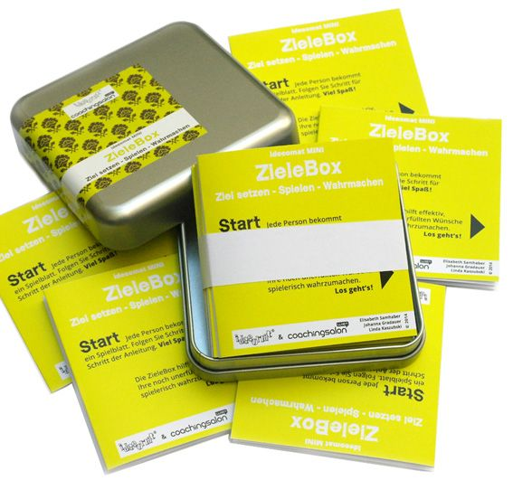 ZieleBox, ideeomat Box, Ziel, Anleitungen