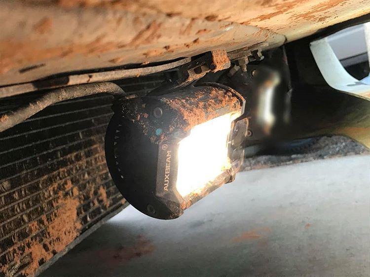 2pcs Set 4 Inch 18w Cree Spot Beam Off Road Led Work Light Bar Led Work Light Bar Lighting Led Light Bars