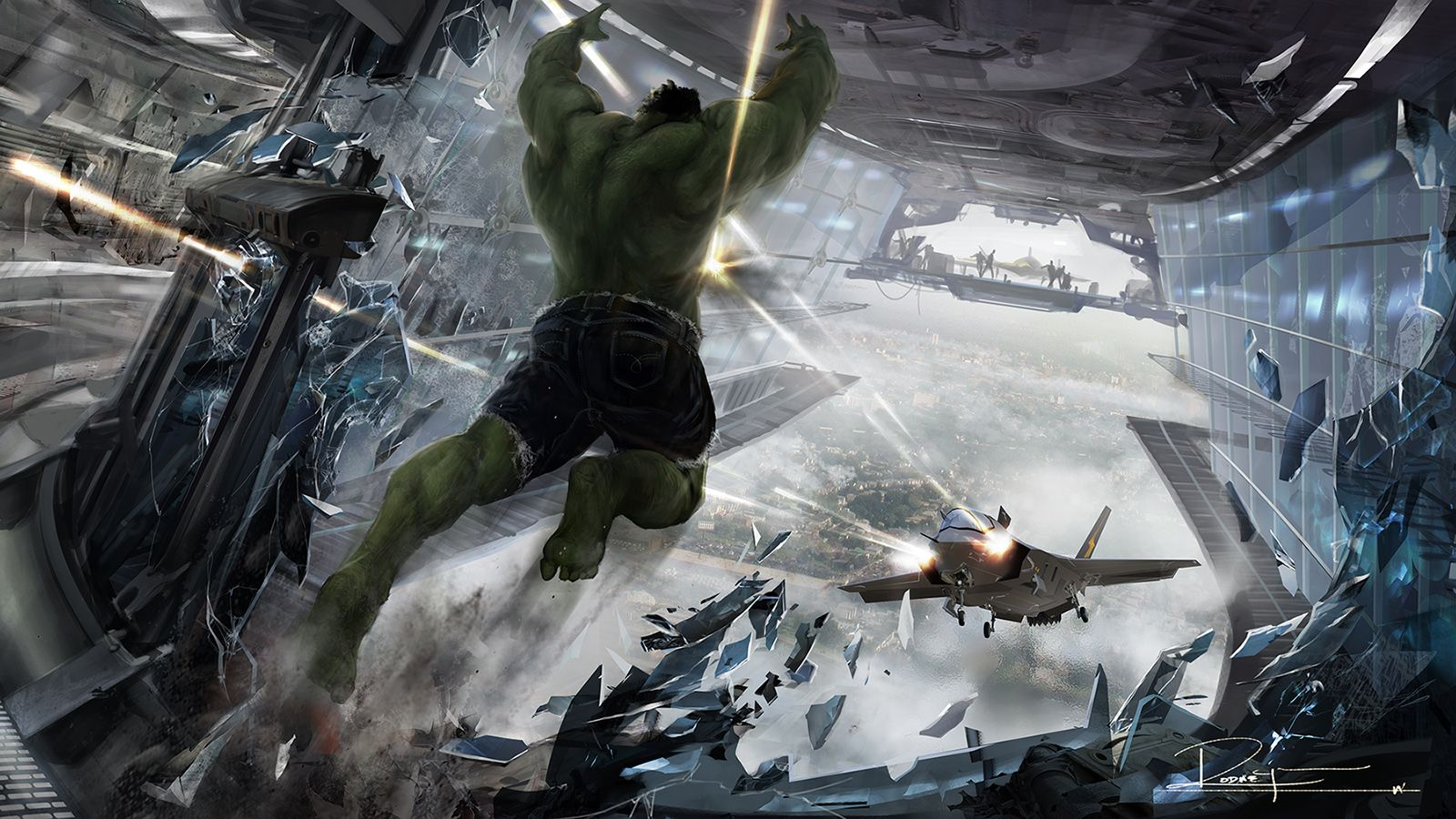 Eye Popping New Concept Art From Avengers Green Lantern And X Men First Cl