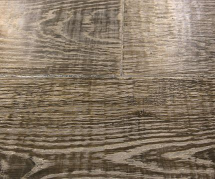 Shades of gray how to use vinegar steel wool to darken for Hardwood floors vinegar