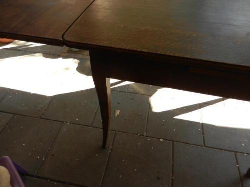 Sehr alter Genialer Tisch Schreinerarbeit .bis 210 cm