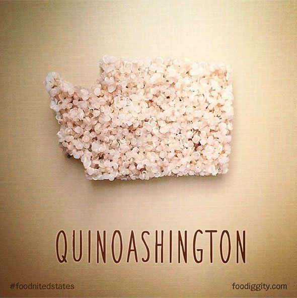 Pin for Later: Foodie Dad Has the Coolest Way to Teach His Son Geography Quinoashington