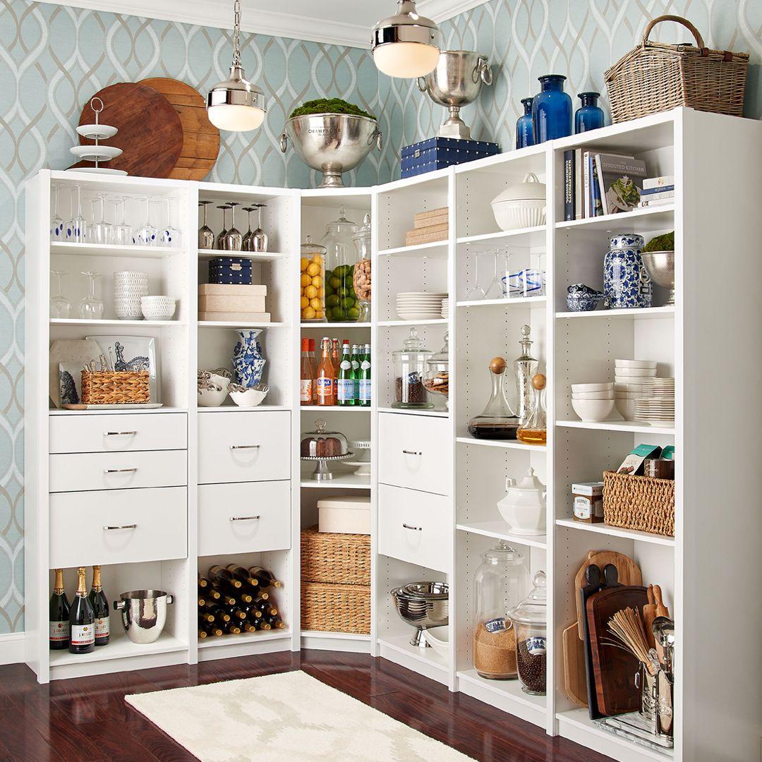 kitchen storage that s as beautiful as it is functional yes please pantry kitchenstorage on kitchen organization elegant id=59503