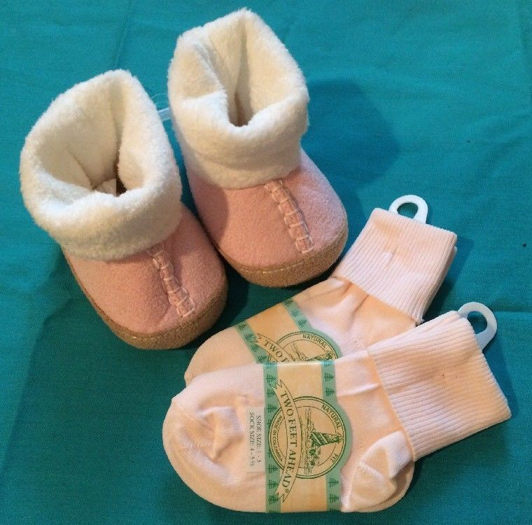 Lot of 3 NEW Goldbug Baby Girl Slippers Size 0-6 mos Socks Two Feet Ahead  GIFT  fashion  clothing  shoes  accessories  babytoddlerclothing  babyshoes  (ebay ... ad044fce9