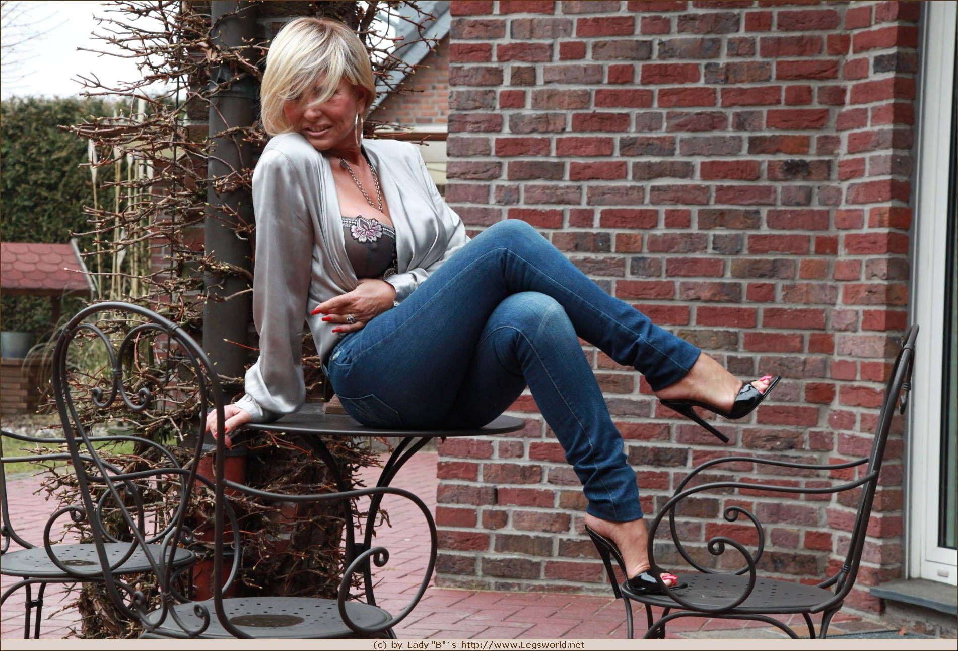 Pin Von Andi Auf Lady Barbara Stiletto Shoes Tights