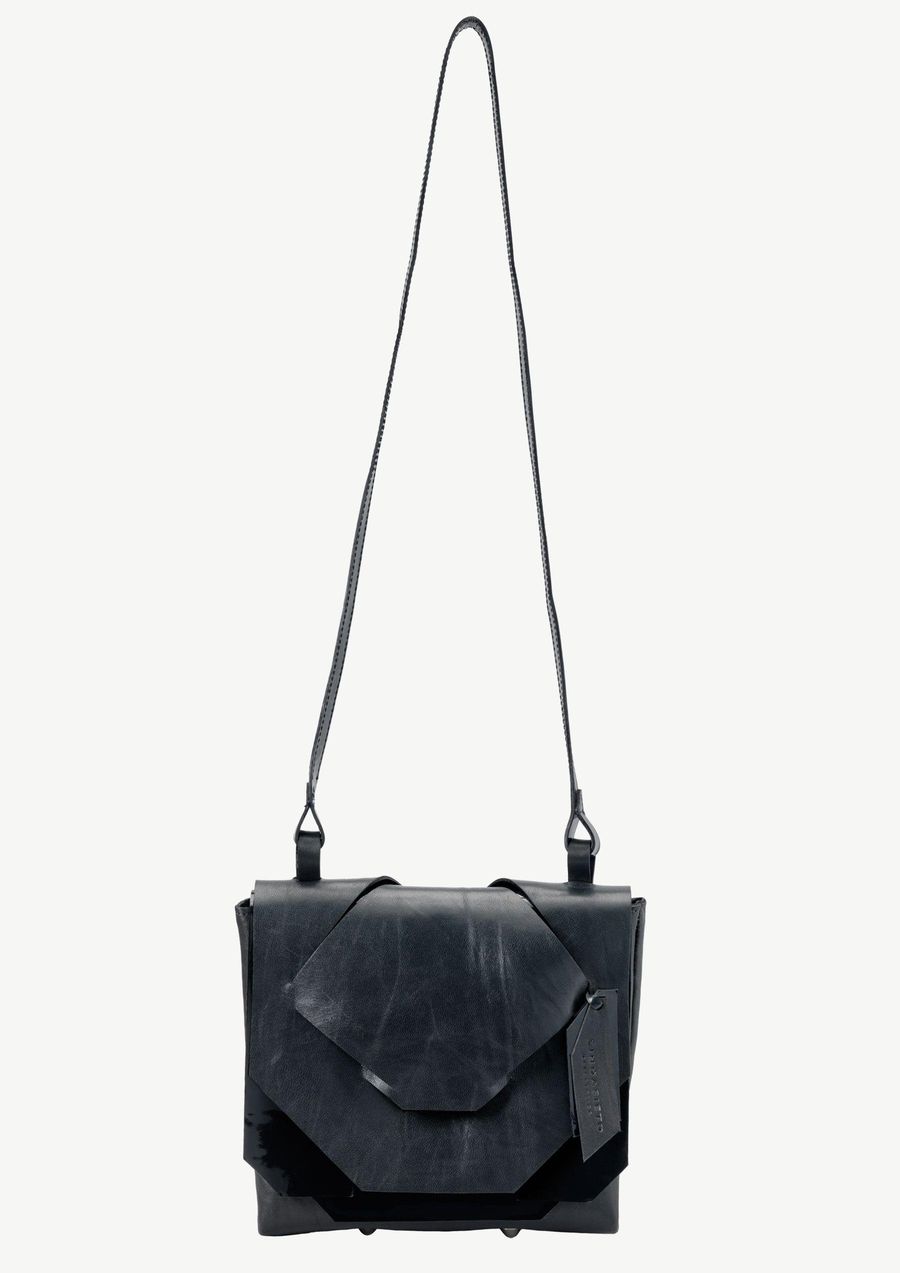 Mini Steel Blue Slashed Bag   Linda Sieto   Shop   NOT JUST A LABEL