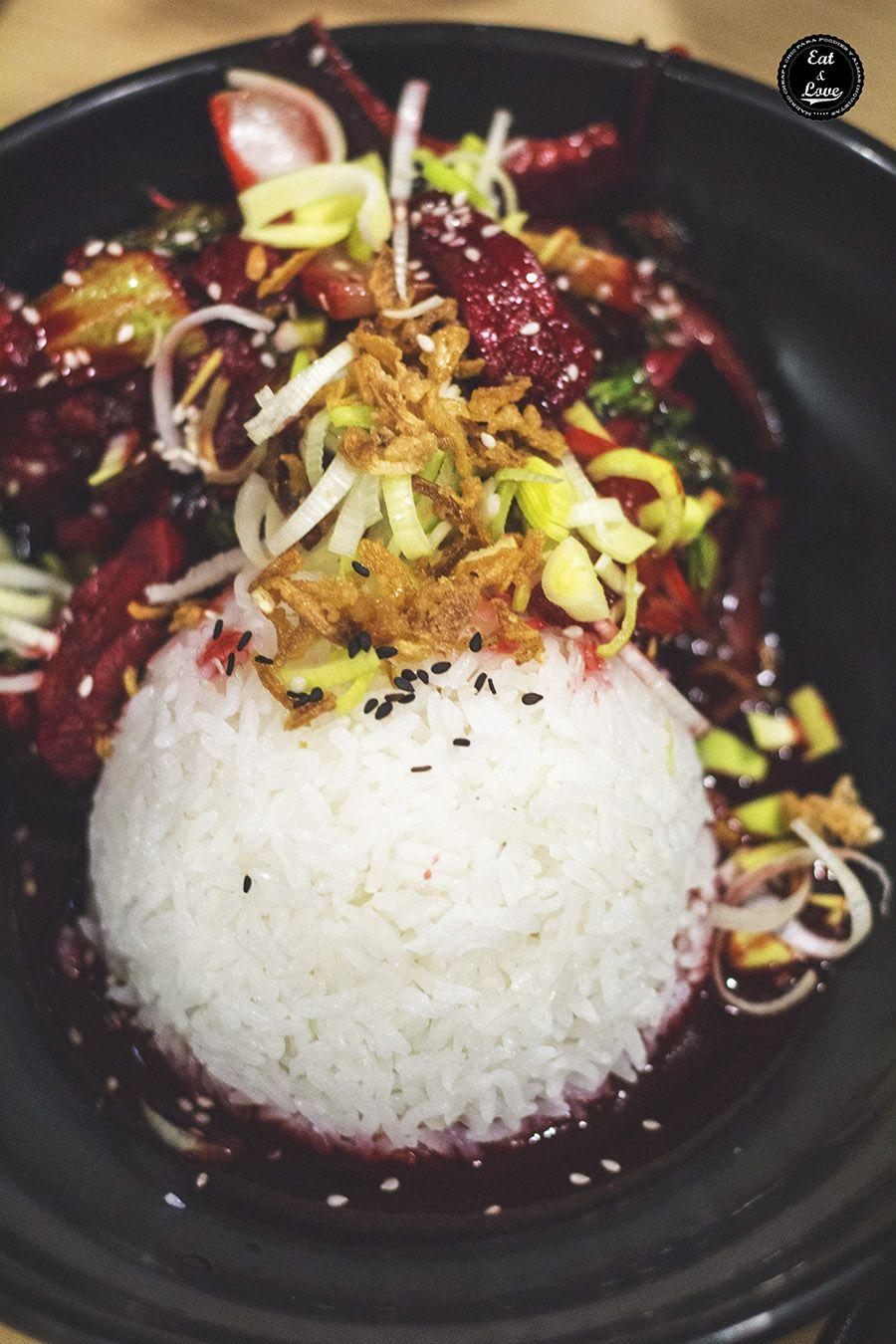 Hong Kong char sui - Tuk tuk street food restaurante asiático Madrid