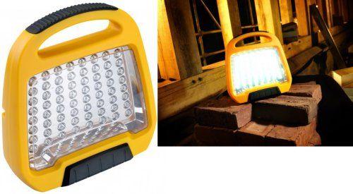 Defender Led Floor Light Robust 110v Unit E709185 Is A Low Energy Lighting Solution That S Ideal For Site I Led Floor Lights Led Festoon Lighting Floor Lights