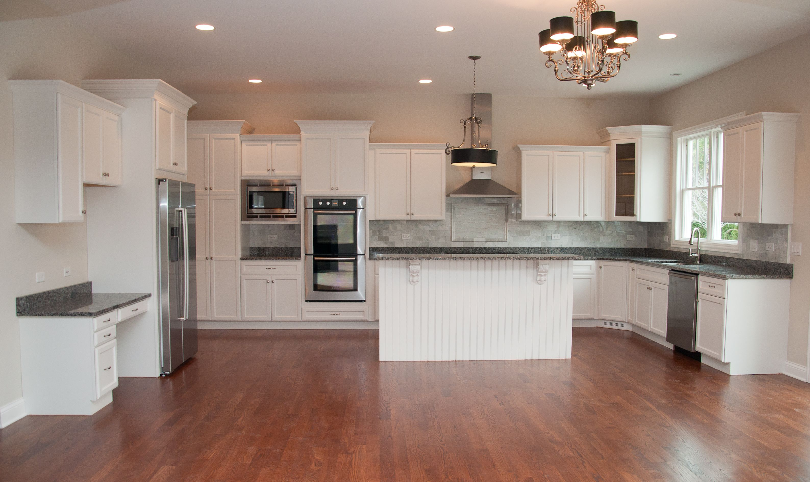 Chicago, Illinois: Light and Bright Kitchen! Painted white ...