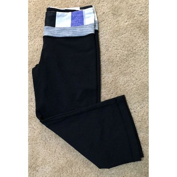 Lululemon pants Crop leggings. Size 6 Yoga or workout pants Like new, Have a lot of life left in them! Price is firm lululemon athletica Pants
