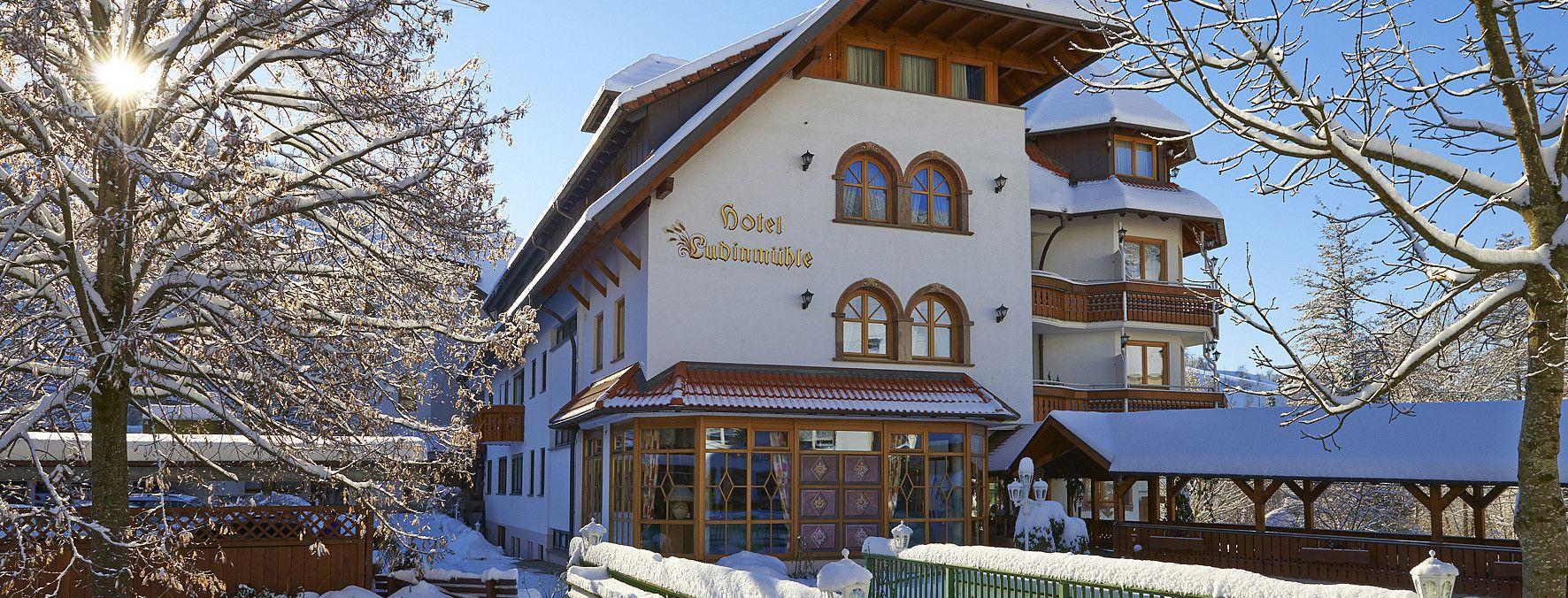 4 Sterne Hotel Schwarzwald Wellnesshotel Ludinmühle