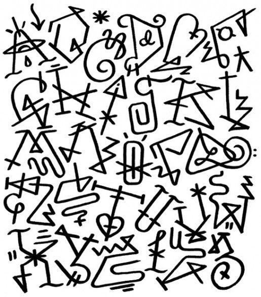 Cool letters to draw on paper the image for Cool writing to draw