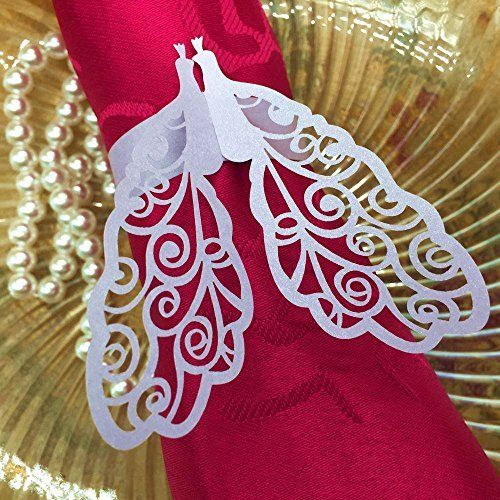 50Pcs/pack Delicate Purple Peacock Paper Napkin Ring Holder Wedding Christmas Party Banquet Decoration Supplies, http://www.amazon.com/dp/B0136YF4NY/ref=cm_sw_r_pi_awdm_HGfBxbR7BJBCB