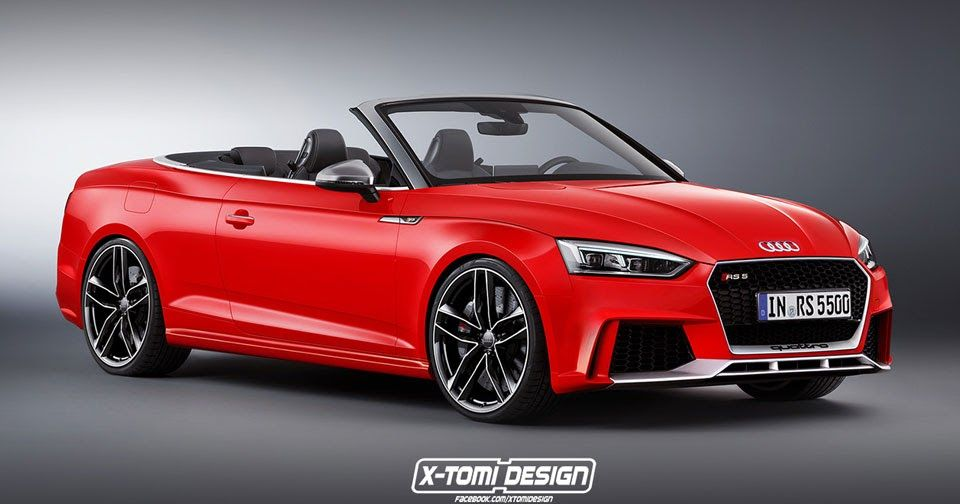 A 2018 Audi Rs5 Cabriolet Would Definitely Look Sharp Carscoops Audi S5 Audi Rs5 Audi A5