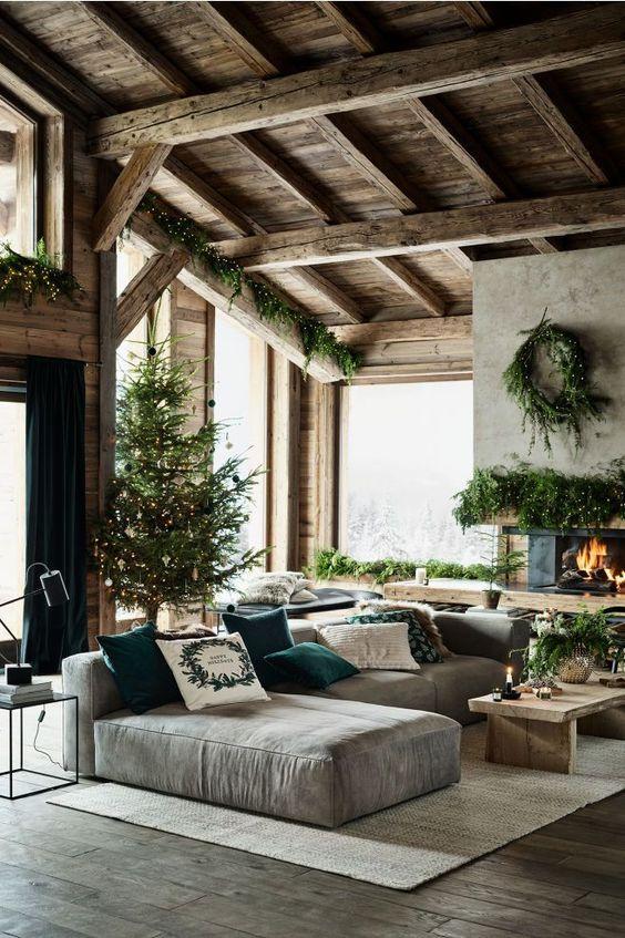Canvas Cushion Cover - Dark green - Home All | H&M US #houseinterior