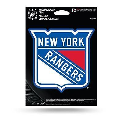 New york rangers decal sticker auto car die cut rico nhl medium vdcm