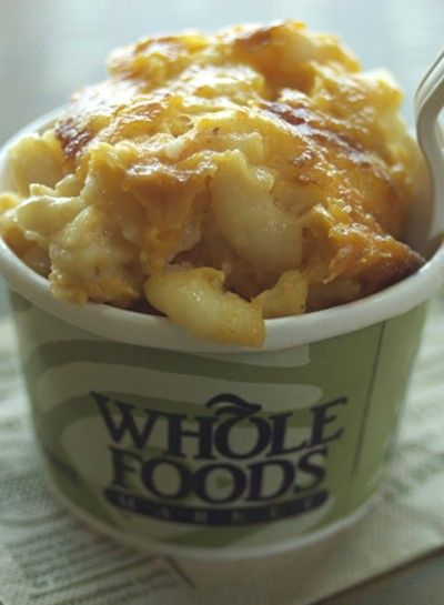 Macaroni And Cheese From Hot Bar A Favorite Whole Food Recipes Food Whole Foods Market