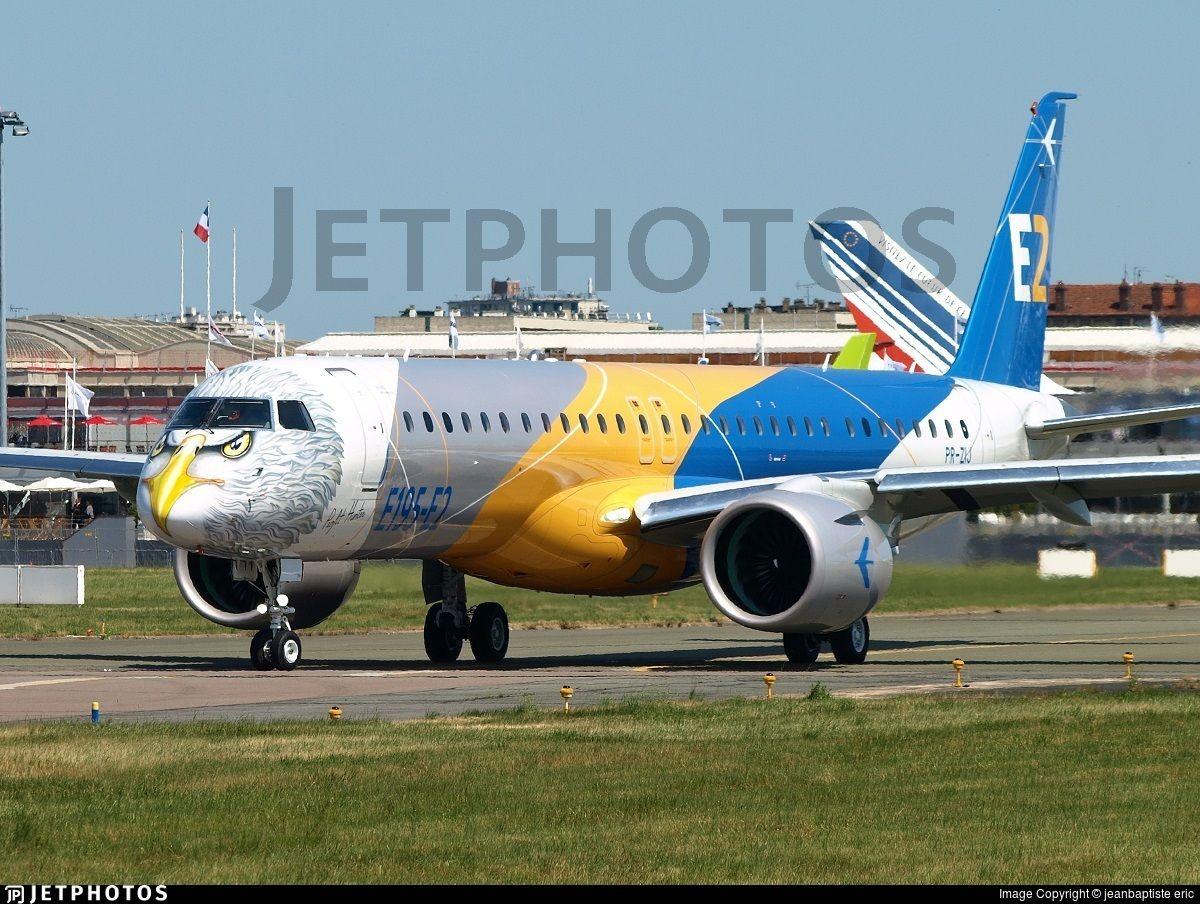 Embraer (BR) Aerospace manufacturer E195E2 190400STD PR