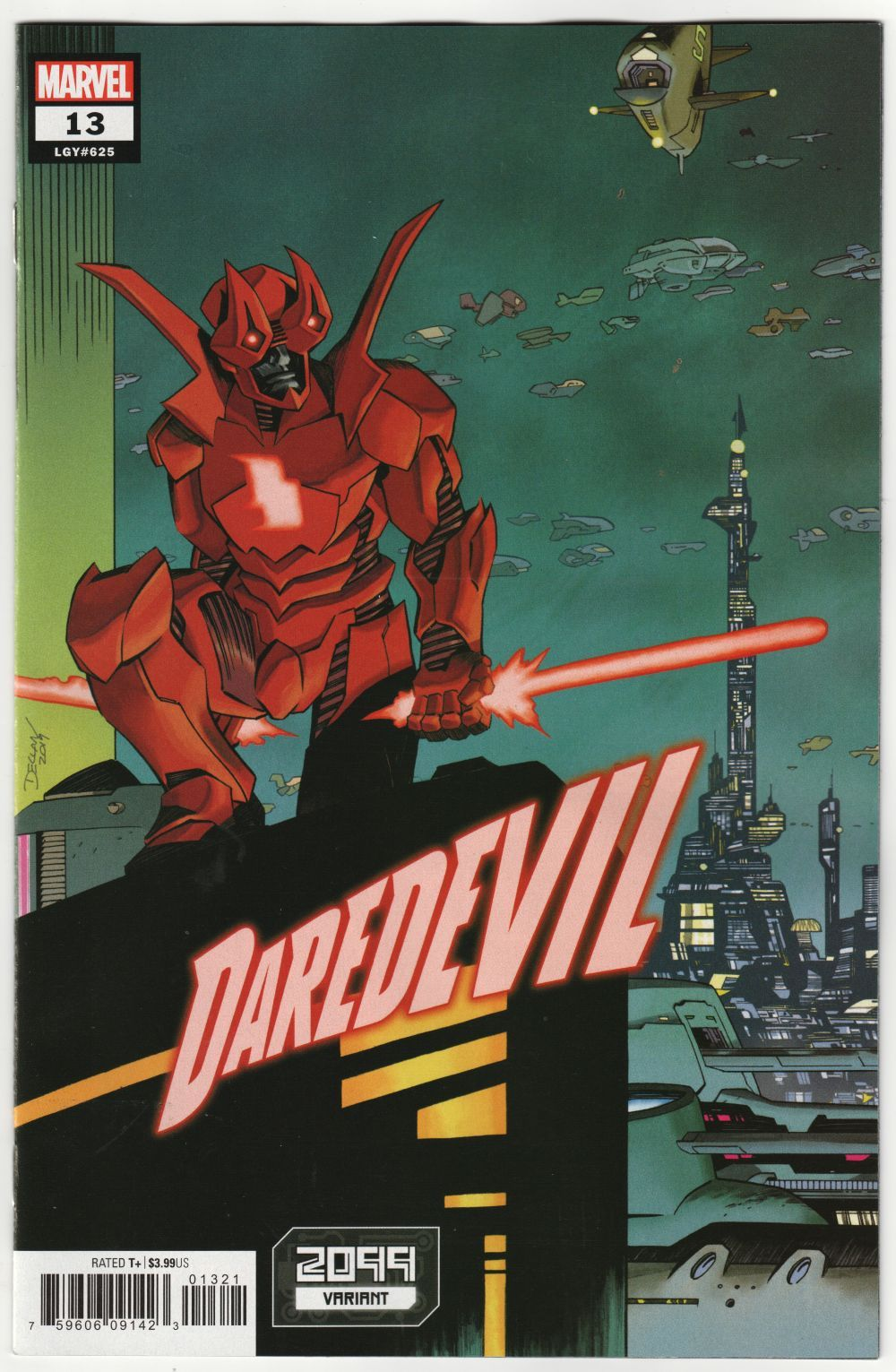 Daredevil 13 Shalvey 2099 Variant (Marvel, 2020) NM