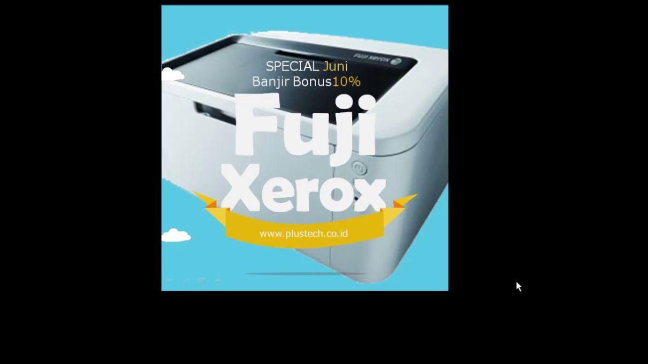 Promofujixerox Fuji Xerox Pinterest Docuprint P115 W