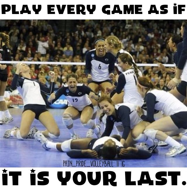 I Need To Tell My Team This On The Very Last Set! ;D