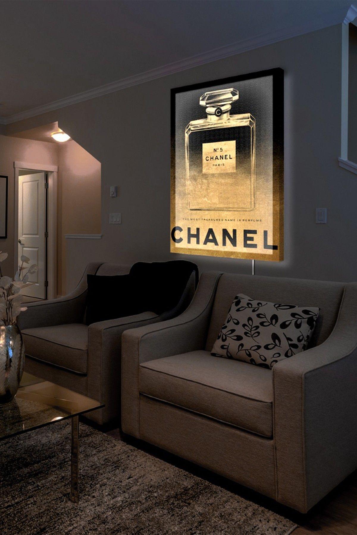Glamorous Living Room Feng Shui Home Decor Chanel