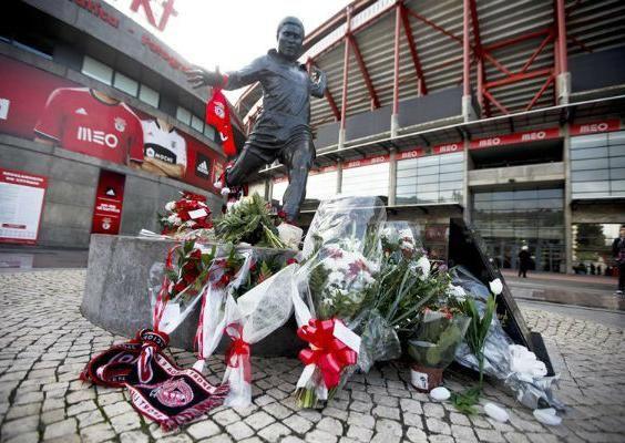 Gobierno portugués declara luto nacional tras muerte de Eusébio