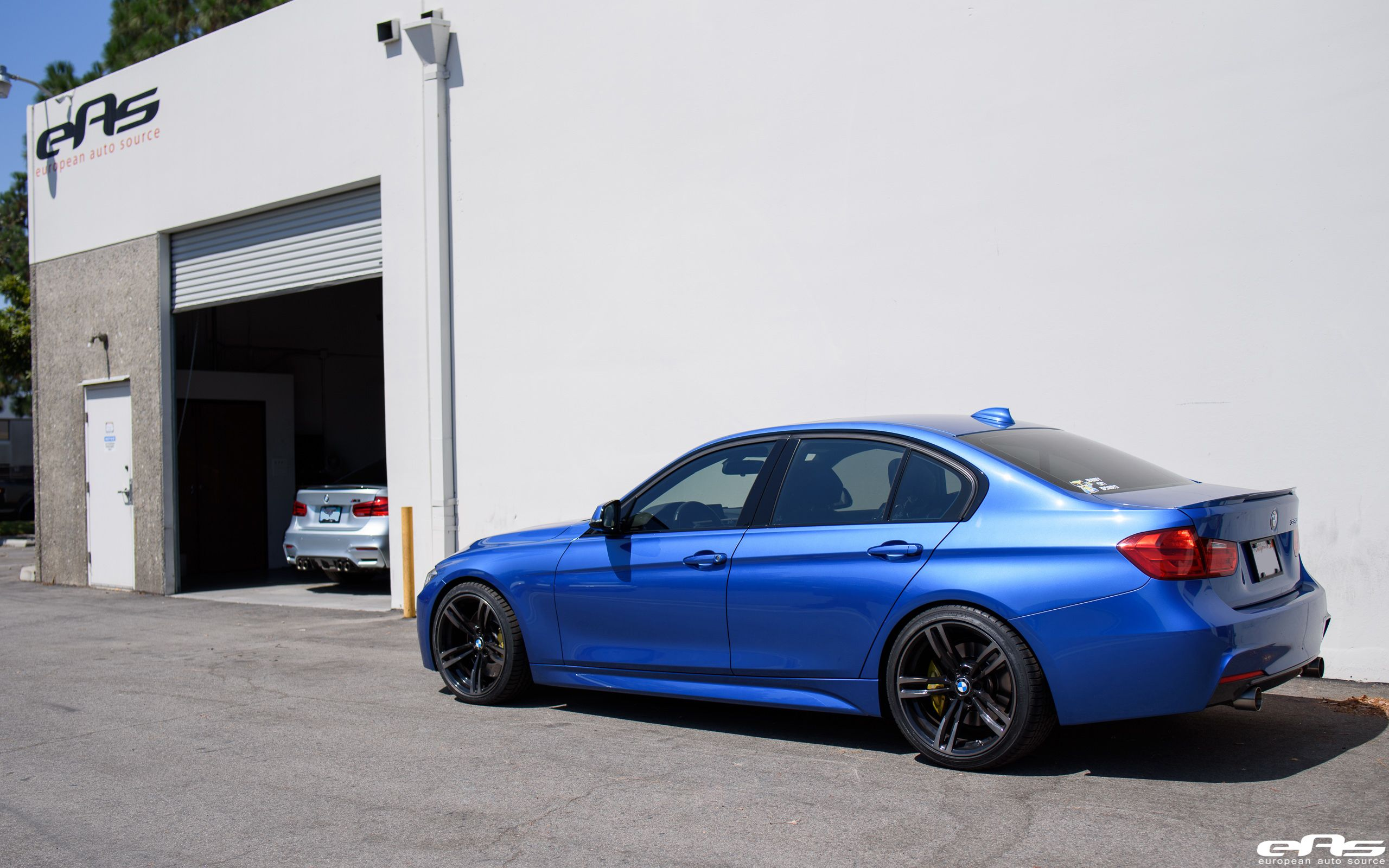 Garage Peugeot Dinan Estoril Blue F30 335i Dinan M Performance Bmw Bmw