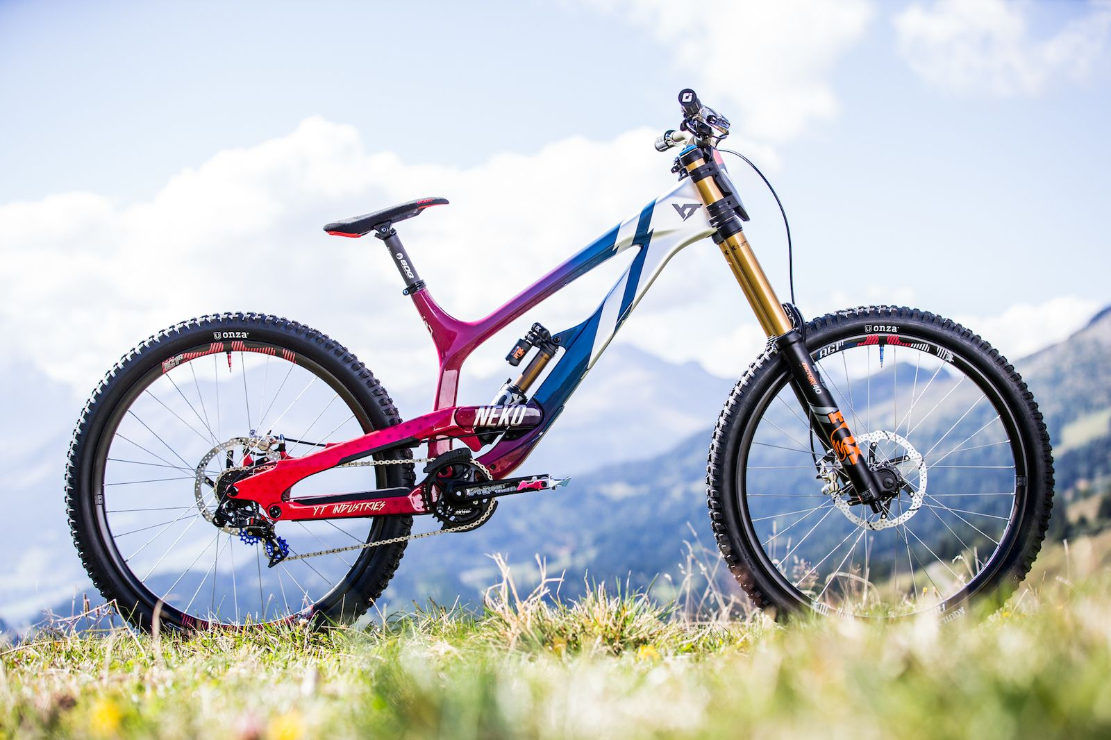 Raffle for a Cause: Neko Mulally's World Champs Bike is for