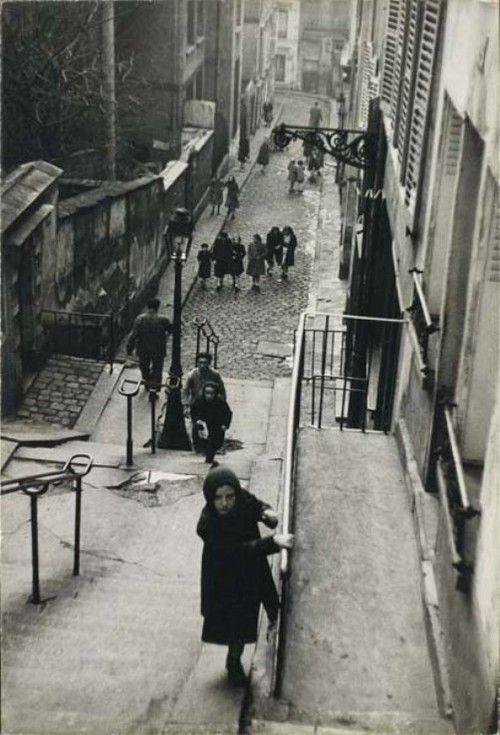 Édouard Boubat Montmartre. Paris (1951)
