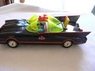 BATMAN 1966 BATMOBILE ASC BLACK TIN TOY - VERY RARE