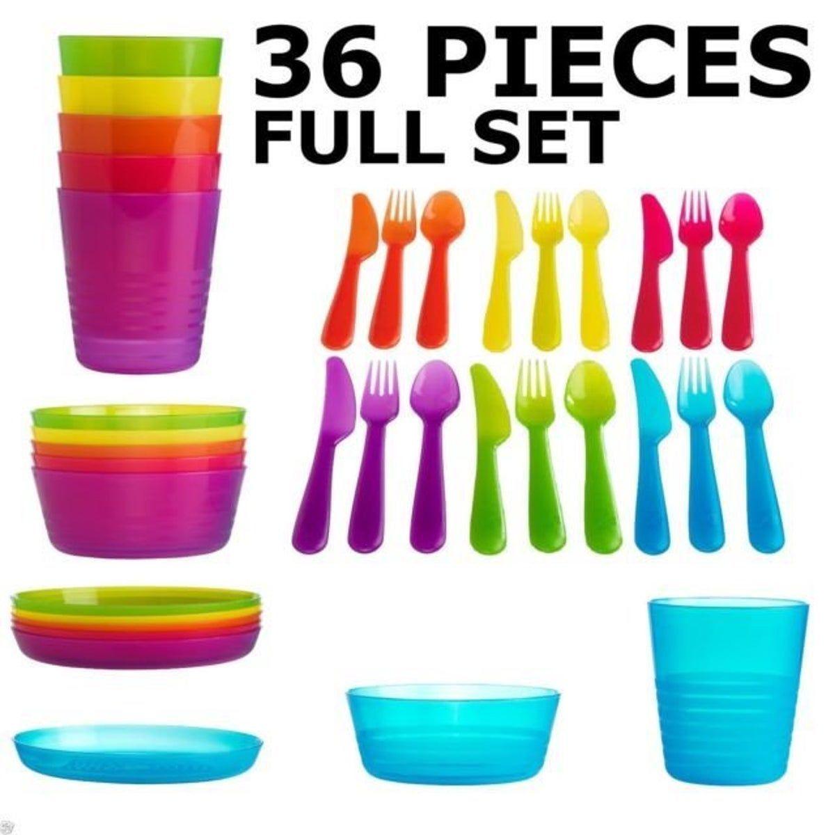 Ikea Kalas Children S Tableware Bpa Free Ikea Kalas Children S Tableware Bpa Free Bpa Childrens Free Ikea In 2020 Plates And Bowls Plastic Dinner Set Cutlery Set