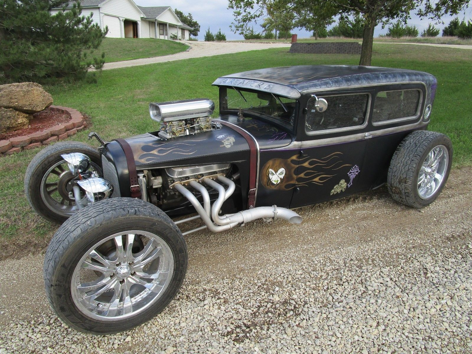 Nice Amazing 1930 Ford 2 door Sedan CUSTOM Rat Rod 2017/2018 | Cars ...